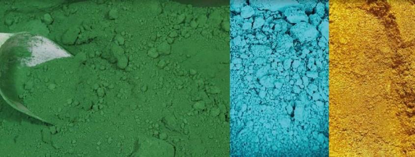 Spinel pigmenti