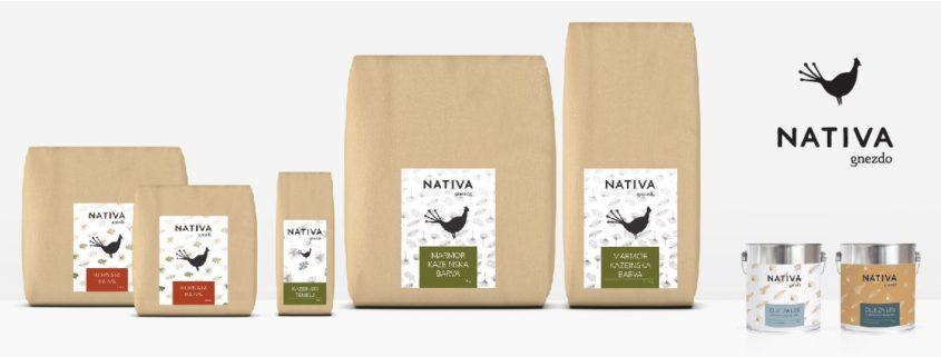 Nativa - lastna linija naravnih materialov