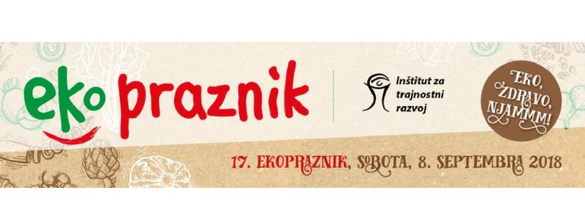 Gnezdo na 17. ekoprazniku v Ljubljani