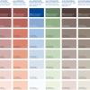 Barvna lestvica - AURO zidne barve