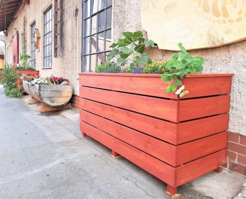 Oljna barva za zaščito visokih gred